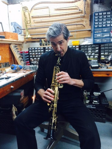 CHRIS BACAS AT BROOKLYN BRASS & REED
