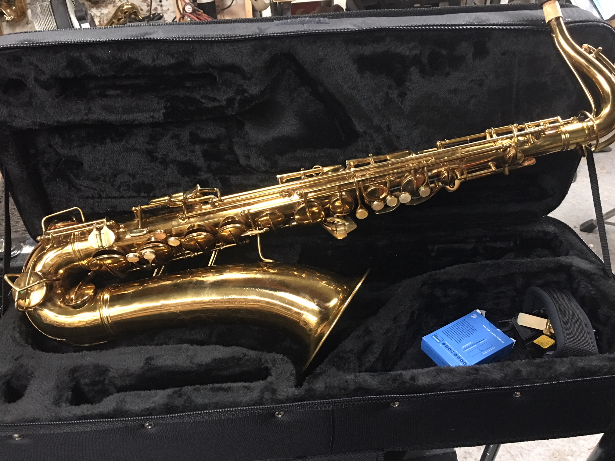 Conn 10M in the shop today | Brooklyn Brass and Reed